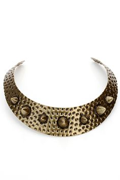 Spike Pendant Vintage Collar Necklace  for 5 pounds...