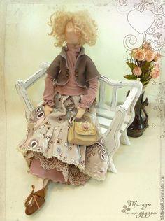 Купить Кукла в стиле Бохо: Луиза - тильда, кукла Тильда, тильды, куклы тильды