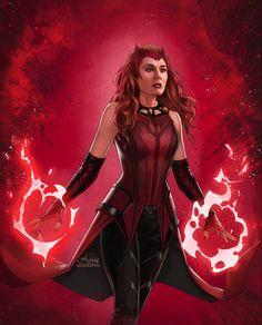 Marvel Comic Character, Marvel Characters, Marvel Fan, Marvel Avengers, Wanda Marvel, Scarlet Witch Marvel, Divas, Wanda And Vision, Marvel Comic Universe