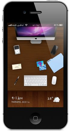 iPhone Apple Desk V2 Dreamboard Themes