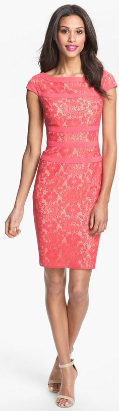 Adrianna Papell Lace Sheath Dress...Nordstrom