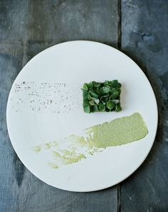 Foraging inspiration from Rene Rezdepi of Noma Copenhagen - Tartare Of Beef And Wood Sorrel, Tarragon And Juniper