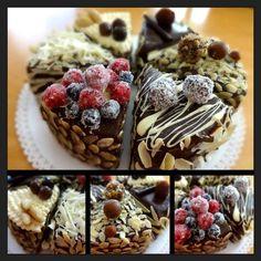 Netradičná čokoládová torta pre prieberčivých:) Každý kúsok je iný, každý si vyberie!