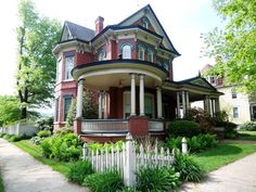 Own a piece of history with this 20 room Queen Anne Victorian on Fifth Street. Listed on the National Register of Historic Homes, this was the original home of Paul Wirt, inventor of the fountain pen. The home was a wedding gift to Paul and his wife Sara from her parents. This grand residence features many original features including heavily corbelled chimneys, pocket doors, ornate fretwork, solid oak wainscoting, solid oak built-in cabinetry, gas/electric chandeliers, front and rear ...
