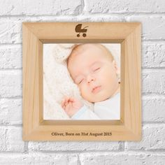 Engraved Wooden Box Photo Frame - Pram Design Unique Baby Gifts, New Baby Gifts, Gifts For Boys, Personalised Gifts, Wooden Boxes, Boy Or Girl, New Baby Products, Frame, Design