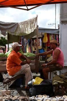 Feira livre, Tucano, Bahia.