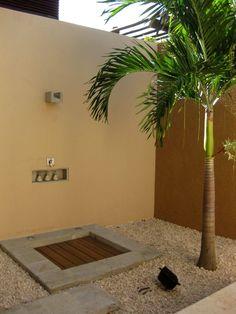 Banyon Tree Mayakoba Hotel Villa - Outdoor Shower
