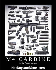 M4 Carbine - It's Like Barbie For Men