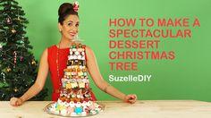 SuzelleDIY - How to Make a Spectacular Dessert Christmas Tree