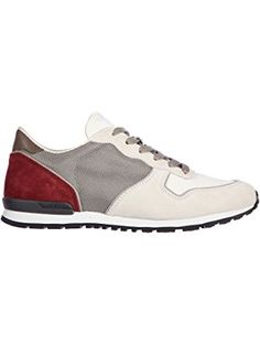 Tod's men's shoes suede trainers sneakers allacciato active fondo sportivo grey US size 8 XXM0VJ0L8108PX12BY ❤ Tod's