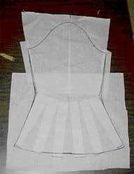 Newsletter - Instructions for creating a bell sleeve Sewing Lessons, Sewing Hacks, Sewing Tutorials, Dress Sewing Patterns, Clothing Patterns, Sewing Sleeves, Diy Clothes, Sewing Clothes, Sewing Alterations