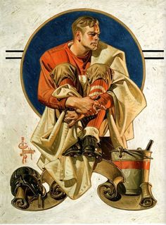 Saturday Evening Post cover, by JC Leyendecker. Before Rockwell, a gay artist defined the perfect American male. Norman Rockwell, The Arrow, Frederic Remington, American Illustration, Illustration Art, Vintage Illustrations, Vintage Posters, Vintage Art, Jc Leyendecker