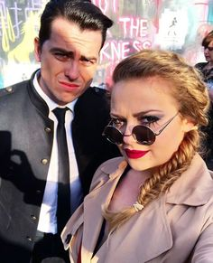 Carrie Hope Fletcher and Oliver Ormson Carrie Hope Fletcher, Having A Blast, Blade Runner, Musical Theatre, Role Models, Carry On, Actors & Actresses, Musicals, Broadway