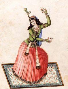 Persian dance - نگاهی به رقص های ملی و محلی ایران (Facebook)