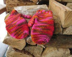 Merino wool convertible fingerless gloves. Boho by BerkshireKnots