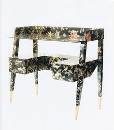 Gio Ponti and Piero Fornasetti, Desk