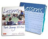 Nancie Atwell is a master teacher who has put together lessons you can follow on a daily basis for your writing workshop. She writes it for 6-8 grades but I easily adapt it for my 4/5th graders. What I like is the actual language included that she uses to talk to the students that you can model. Included are reproducibles for each lesson. You can buy this used but make sure that the reproducibles are included. Sometimes sellers will sell only the book without the binder.