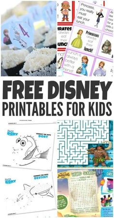 Free Disney Printables For Your Kids