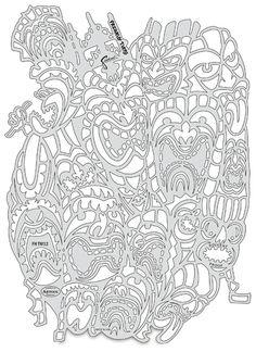 Tiki Master II Freaky Tikis Template