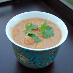 Peanut Squash Soup.  Yum!!