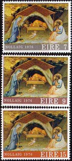 Decimal Postage Stamps of Eire Ireland 1976 Christmas Fine Used SG 401 Scott 408 Other Irish Stamps HERE Take a look