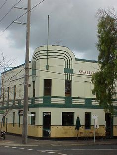 Art Deco.... Buildings: Swallows biscuit factory of Port Melbourne, Victoria, Australia