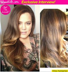 Love the color placement of these balayage highlights !!!