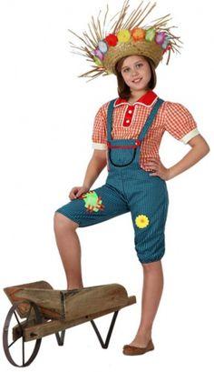 Boerinnen carnavalskleding voor meisjes