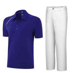 Dustin Johnson's Masters Outfit 2014 on Thursday #golf #fashion #golfoutfit