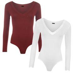 Dvojbalenie Obľúbené Dámske Body S/M Body M, Bodysuits, Casual Wear, The Selection, How To Wear, Tops, Women, Fashion, Casual Outfits