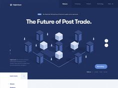 Blockchain Financial website (FinTech, Bitcoin, Isometric) designed by Julien Renvoye for Voila. Connect with them on Dribbble; Landing Page Inspiration, Ui Design Inspiration, Financial Website, Isometric Design, Photoshop, Layout, Interactive Design, App Design, Flat Design