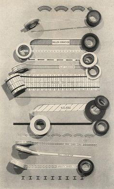 1950s Drafting Tape.