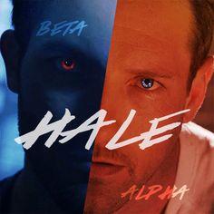 Peter hale and derek hale, teen wolf