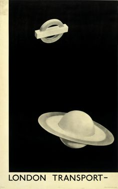 This epic poster, by the Surrealist artist Man Ray, recently fetched the highest ever price for a transport poster at auction. It is quite unlike any other poster in terms of both appearance and how it was made. The image is the product of a camera-less photographic process. This involved placing three-dimensional objects directly onto photographic paper and exposing them to light.