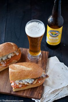 Drunken Chipotle Chicken Parmesan Sandwich