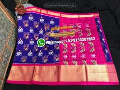 Exclusive Pochampally ikat silk sarees avialable in stock Buy now South Indian Wedding Saree, Saree Wedding, Ikkat Silk Sarees, Indian Designer Wear, Ikat, Woman Clothing, Clothes For Women, Women's Clothes, Outerwear Women