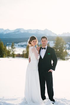 Photography: O\'Malley Photographers - omalleyphotographers.com  Read More: http://www.stylemepretty.com/2013/11/01/winter-wedding-inspiration-from-omalley-photographers/