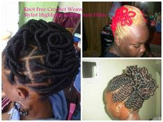 Salons featured weekly @ http://knotfreecrochetweave.blogspot.com/p/salon.html To be featured also, follow me on Facebook & post your salon info under the salon directory notes