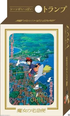 Kiki's Delivery Service Playing Cards Trump Studio Ghibli Toys Japan CA