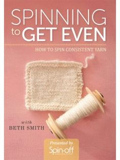 Feeling frustrated with uneven yarn? This latest video from spinning extraordinaire Beth Smith will help you take control of your yarn!