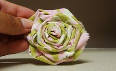 Shabby rolled rose