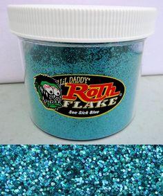 Roth metal flake huge 1lb tub see sick blue hot rod custom paint lil daddy #LILDADDYROTH