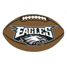 Philadelphia Eagles football shaped mat