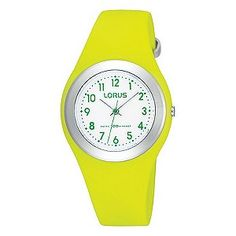 Lorus Kids' Green Strap Watch from H Samuel