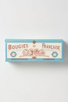 Bougies La Francaise Perforated Taper Set #anthropologie