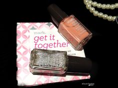 Must-Have Makeup from Mark and Avon: Get It Together lacquer and lipstick set.