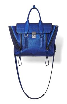 3.1+Phillip+Lim+'Medium+Pashli'+Shark+Embossed+Leather+Satchel+available+at+#Nordstrom
