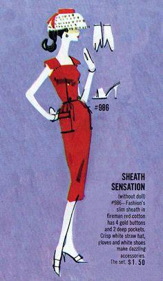 Barbie - Sheath Sensation #986