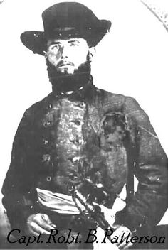 Capt. Robert Benjamin Patterson, Company B, 47th Tennessee Infantry  Captain Patterson died from TB contracted at Johnson Island Prison where he was sent after his capture at the Battle of Nashville, Dec 1864