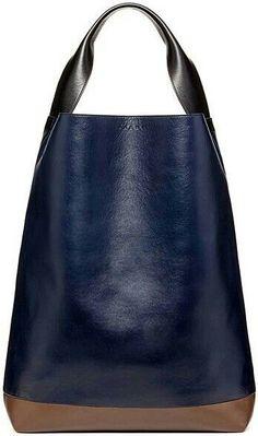 Designer Fashion Handbags Style Trends Marni - Bags - 2014 Pre-Fall save,love and buy ! Fashion Handbags, Tote Handbags, Purses And Handbags, Fashion Bags, Leather Handbags, Leather Bags, Fashion Beauty, Black Leather, Beautiful Handbags